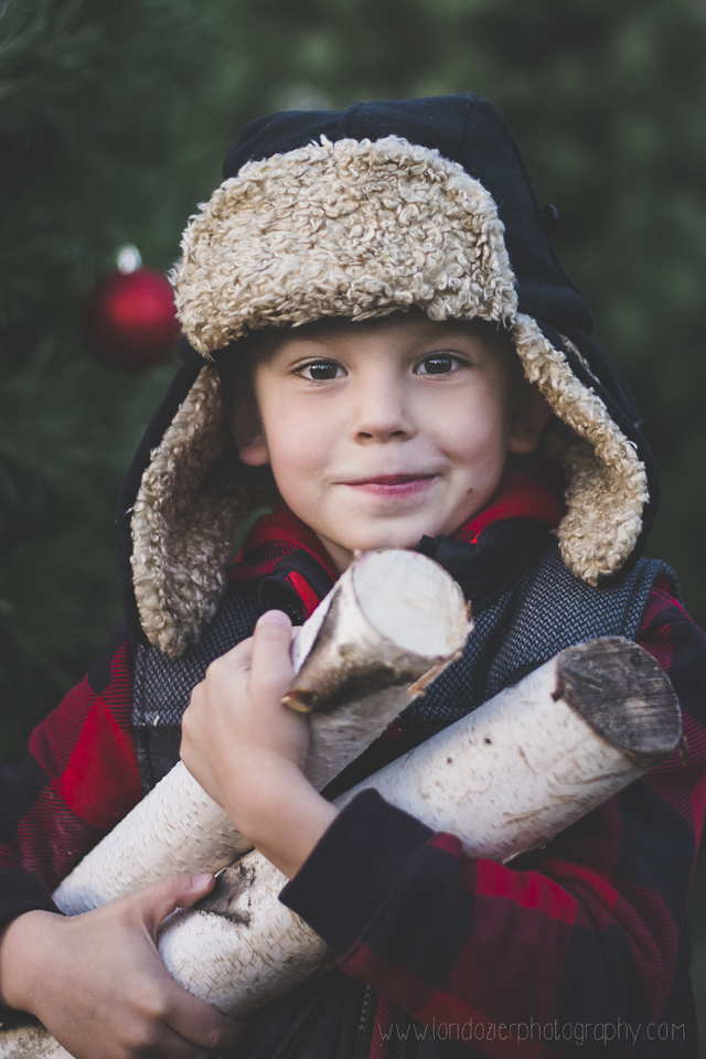 twin cities tree farm photographer